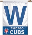 "Chicago Cubs ""W"" MLB 27"" x 37"" Vertical Outdoor Flag"