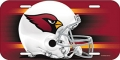 Arizona Cardinals License Plate