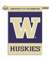 "Washington Huskies 27"" x 37"" Vertical Outdoor Pole Flag"