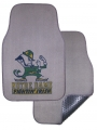 Notre Dame Fighting Irish 2pc Grey Universal Car Floor Mats