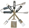 Chicago White Sox Stainless Steel BBQ Utensil Set