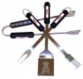 Anaheim Angels Stainless Steel BBQ Utensil Set