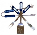 Los Angeles Dodgers Stainless Steel BBQ Utensil Set