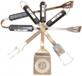 Oakland Athletics Stainless Steel BBQ Utensil Set