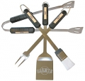 San Francisco Giants Stainless Steel BBQ Utensil Set
