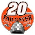 Tony Stewart #20 NASCAR Tailgater Trailer Hitch Cover