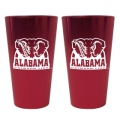 Alabama Crimson Tide Lusterware Set of 16oz. Pint Glasses