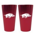 Arkansas Razorbacks Lusterware Set of 16oz. Pint Glasses