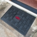 "Arkansas Razorbacks 19"" x 30"" Vinyl Front Door Welcome Mat"