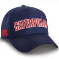 Caterpillar CAT Navy Chevron Detail Cap