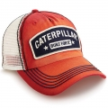 Caterpillar CAT Built For It Patch Faded Mesh Cap