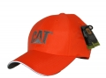 Caterpillar CAT Hi-Vis Safety Orange Workwear/Hunting Trademark Cap