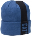 Caterpillar CAT Blue Power Stripe Winter Beanie Cap