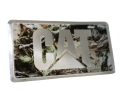 Caterpillar CAT Camouflage License Plate
