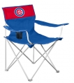 Chicago Cubs MLB Canvas Tailgate Chair