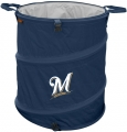 Milwaukee Brewers MLB Collapsible Trash Can