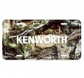 Kenworth Trucking Camouflage Camo License Plate