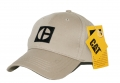 Caterpillar CAT Heritage Khaki Block C Bill Cap
