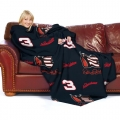 "Dale Earnhardt Sr. #3 ""The Intimidator"" Adult Huddler 71"" x 48"" Fleece Snuggie Throw Blanket"