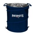 New England Patriots NFL Collapsible Trash Can