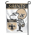 "New Orleans Saints Mascot 11"" x 15"" NFL Garden Flag"