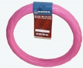 "Rig Matters 18"" Diamond Cushion Style Hot Pink Semi Truck Steering Wheel Cover"