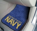 United States Navy 2pc Car Floor Mats