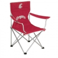 Washington State Cougars NCAA Folding Tailgate Lawn Chair