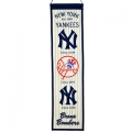 "New York Yankees MLB Wool 8"" x 32"" Heritage Banner"