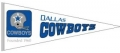 Dallas Cowboys NFL Throwback Wool Pennant