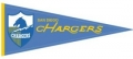 San Diego Chargers NFL Throwback Wool Pennant