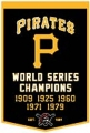 "Pittsburgh Pirates 24"" x 36"" MLB Wool Dynasty Banner"