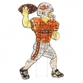 "Oklahoma State Cowboys 44"" NCAA Animated Lawn Figure"