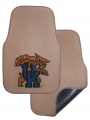 Kentucky Wildcats 2pc Beige Universal Car Floor Mats