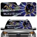 Baltimore Ravens Automobile Sun Shade