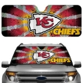 Kansas City Chiefs Automobile Sun Shade