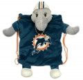 Miami Dolphins School Backpack Pal