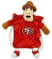San Francisco 49ers School Backpack Pal