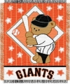 "San Francisco Giants 36"" x 48"" Triple Woven Baby Throw Blanket"