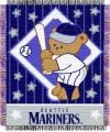 "Seattle Mariners 36"" x 48"" Triple Woven Baby Throw Blanket"