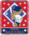 "Texas Rangers 36"" x 48"" Triple Woven Baby MLB Throw Blanket"