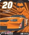 "Tony Stewart #20 Royal Plush Raschel 50"" x 60""  Throw Blanket"