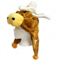 Texas Longhorns Mascot Themed Dangle Hat