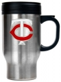 Minnesota Twins Stainless Steel Travel Mug