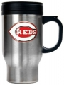 Cincinnati Reds Stainless Steel Travel Mug