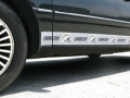 San Diego Chargers NFL Rocker Panel Trim Magnets