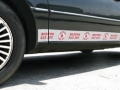 Boston Red Sox MLB Rocker Panel Trim Magnets
