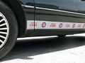 Chicago Cubs MLB Rocker Panel Trim Magnets