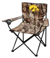 Iowa Hawkeyes NCAA Realtree Canvas Tailgate Chair