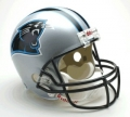 "Carolina Panthers Full Size """"Deluxe"""" Replica NFL Helmet by Riddell"